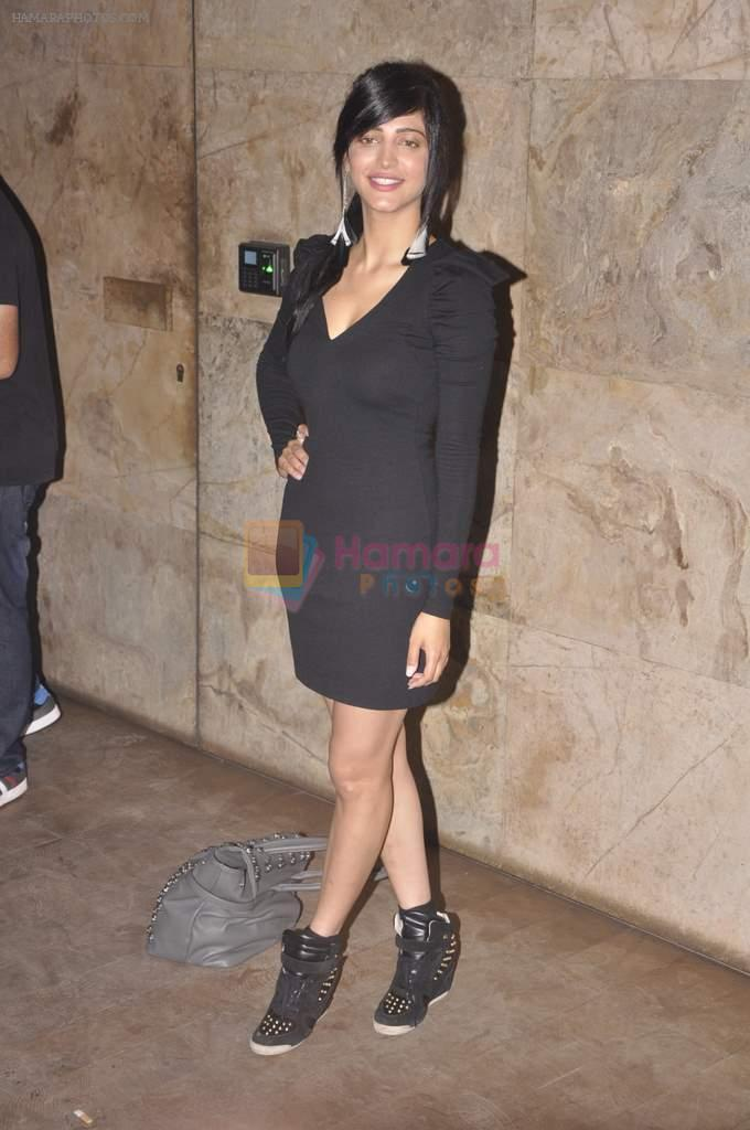 Shruti Hassan at D-day special screening in Light Box, Mumbai on 18th July 2013