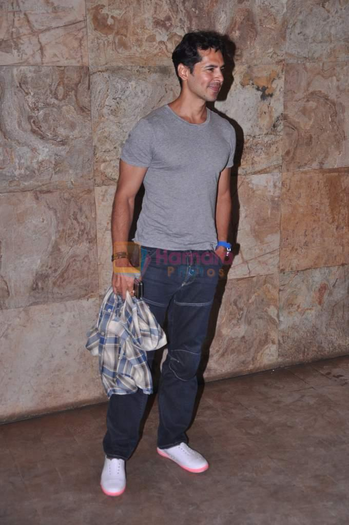 Dino Morea at D-day special screening in Light Box, Mumbai on 18th July 2013