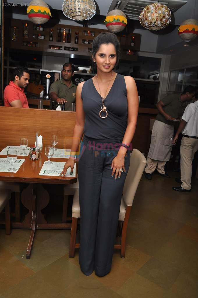 Sania Mirza at Woodside Beer Burger fest in Andheri, Mumbai on 16th July 2013