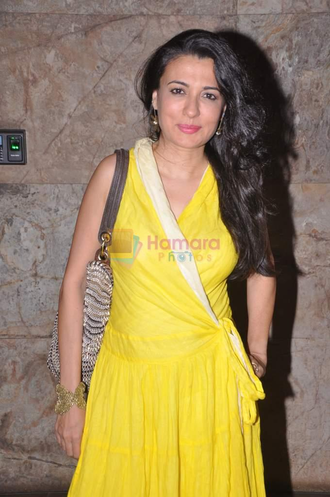 Mini Mathur at D-day special screening in Light Box, Mumbai on 18th July 2013