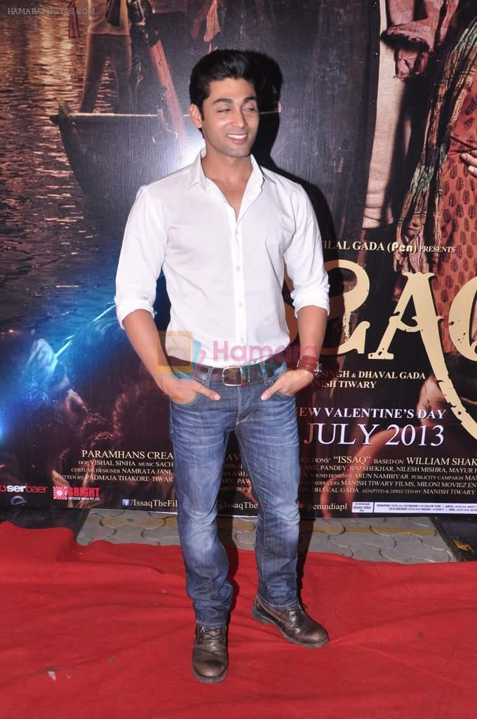 Ruslaan Mumtaz at Issaq premiere in Mumbai on 25th July 2013