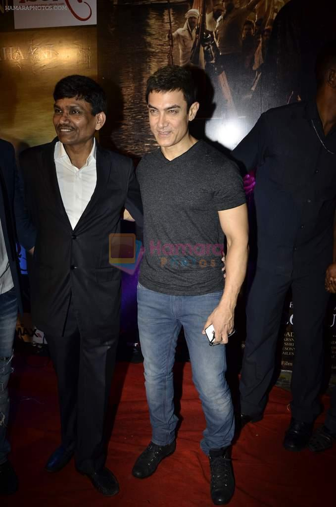Aamir Khan at Issaq premiere in Mumbai on 25th July 2013