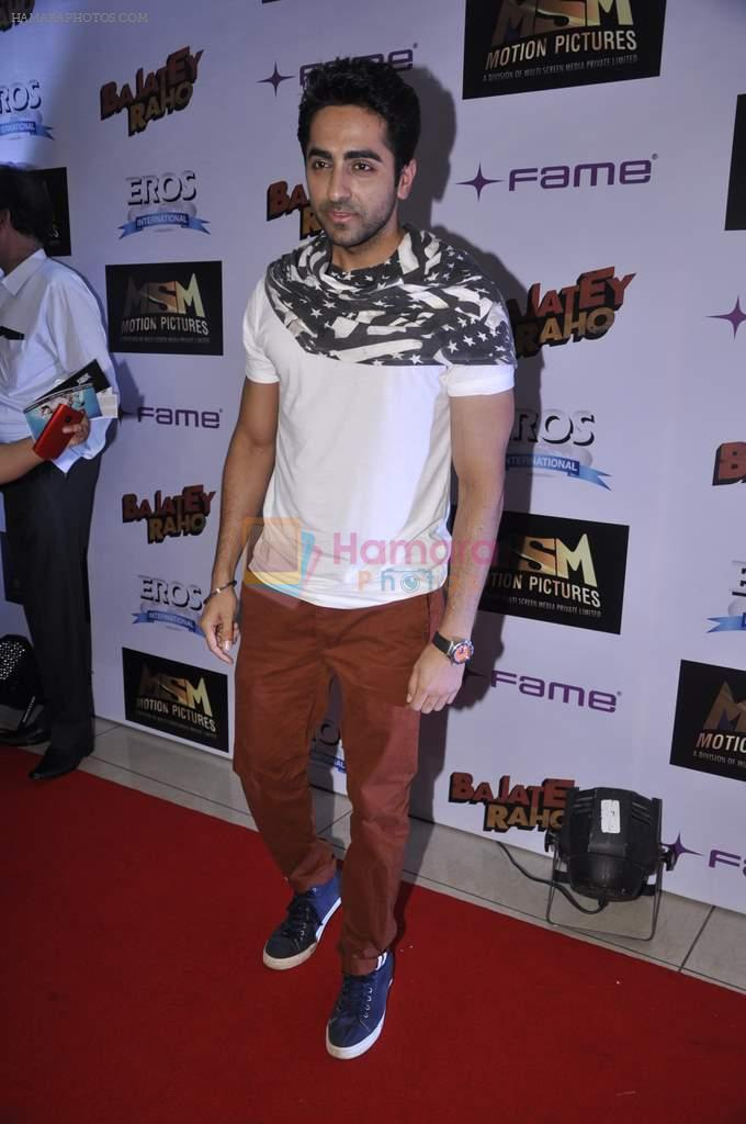 Ayushman Khurana at Bajatey raho premiere in Mumbai on 25th July 2013