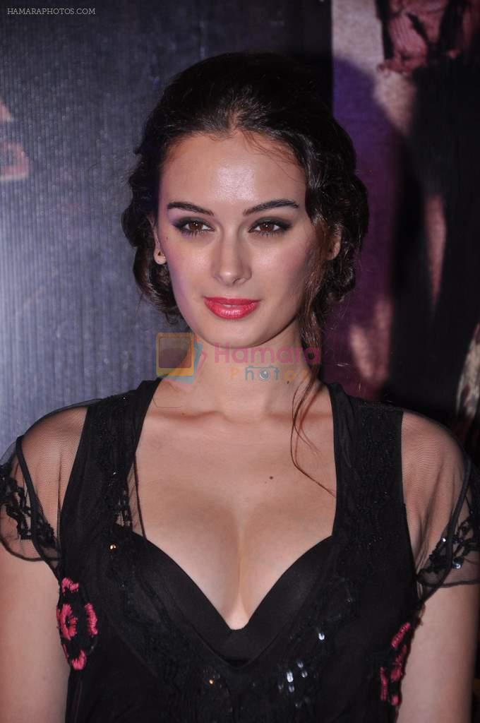 Evelyn Sharma at Issaq premiere in Mumbai on 25th July 2013
