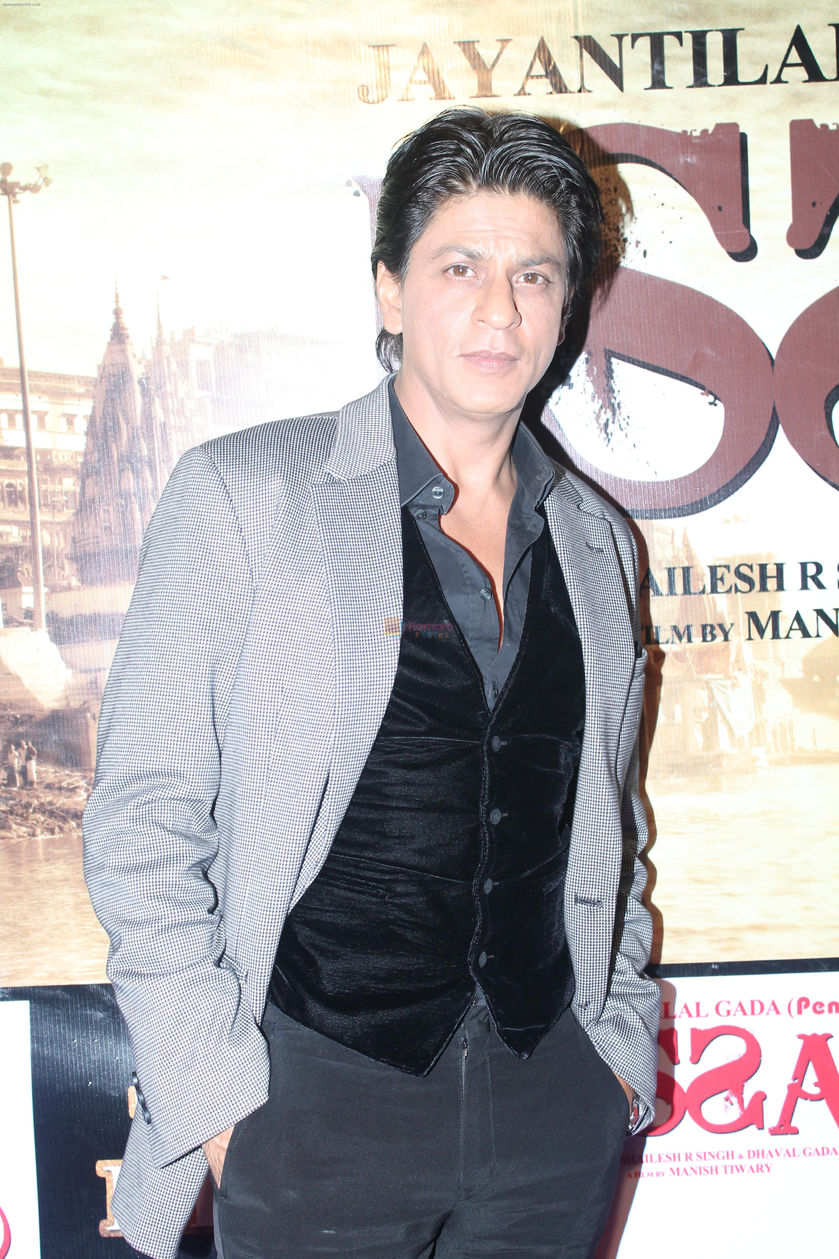 Shahrukh Khan at Issaq premiere in Mumbai on 25th July 2013