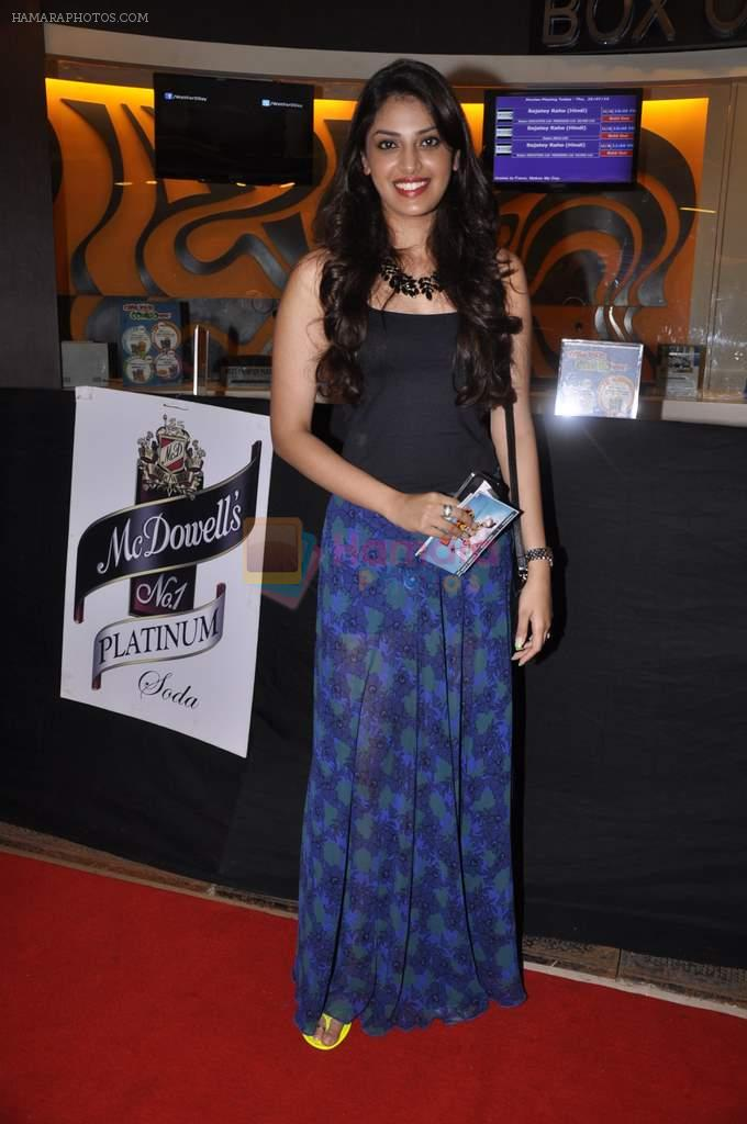 Anushka Ranjan at Bajatey raho premiere in Mumbai on 25th July 2013