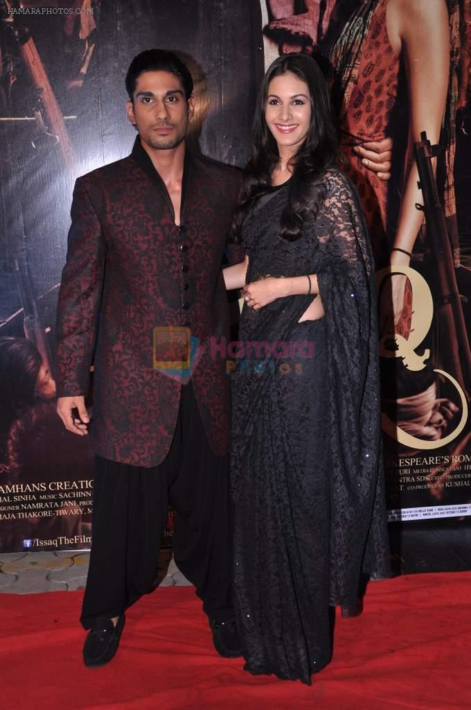 Prateik Babbar, Amyra Dastur at Issaq premiere in Mumbai on 25th July 2013