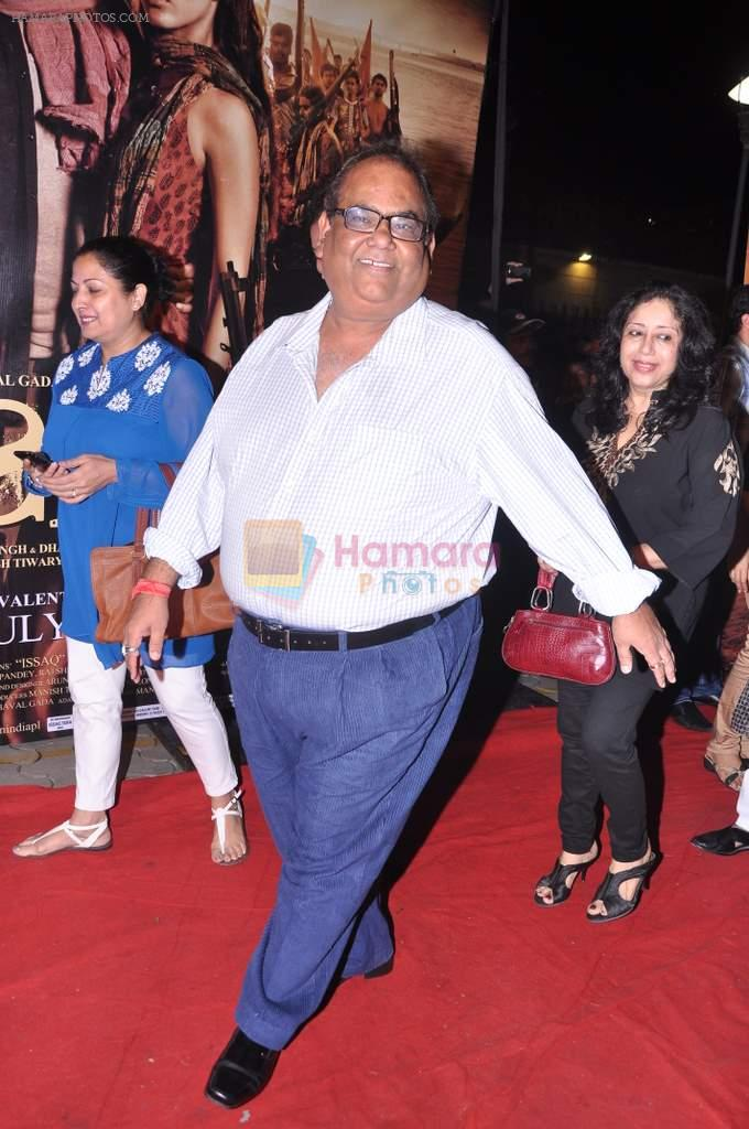 Satish Kaushik at Issaq premiere in Mumbai on 25th July 2013