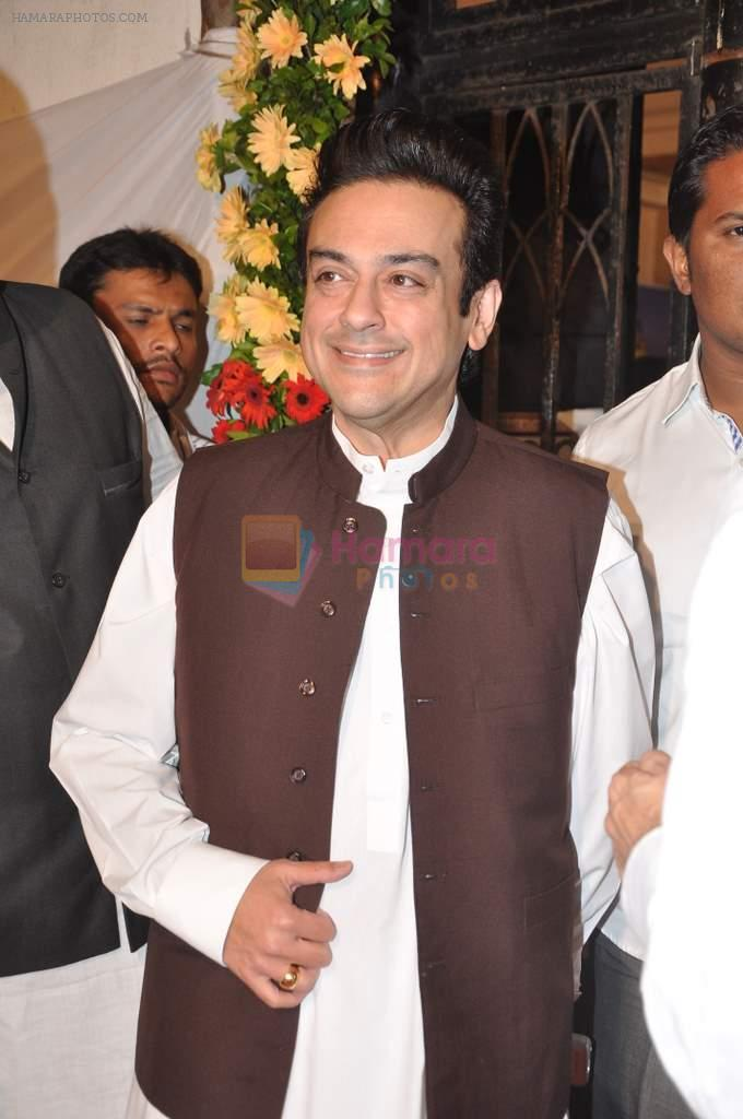 Adnan Sami at Sharad Pawar's Iftar Party in Hajj House, Mumbai on 26th July 2013