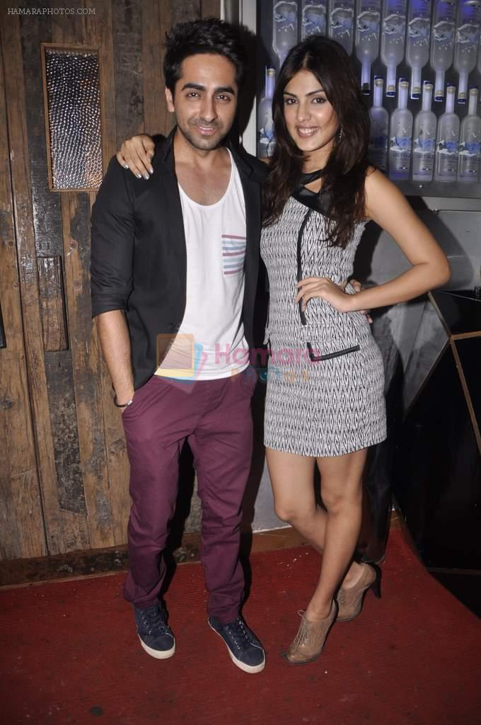 Ayushman Khurana at Anusha Dandekar's bash in Liv, Mumbai on 26th July 2013