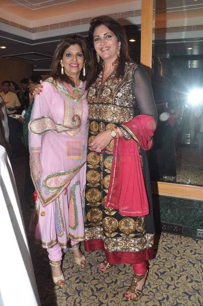 Bina Aziz at Pankaj Udhas's Khazana concert in Trident, Mumbai on 26th July 2013
