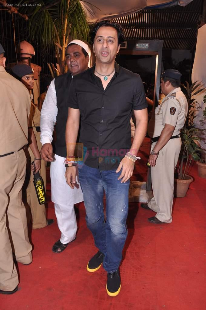 Salim Merchant at Sharad Pawar's Iftar Party in Hajj House, Mumbai on 26th July 2013
