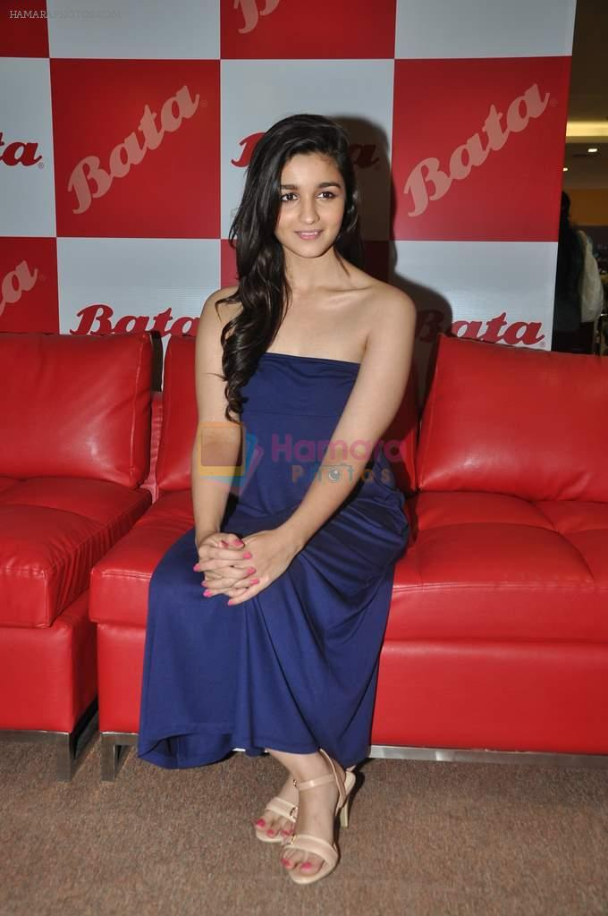 Alia Bhatt at Bata new collection launch in Thane, Mumbai on 26th July 2013