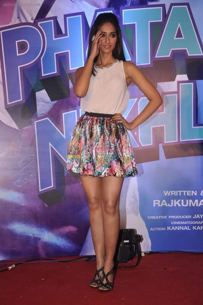Ileana Dcruz at the Launch of Tu Mere Agal Bagal Hai song from Phata Poster Nikhla Hero in Mehboob, Mumbai on 26th July 2013
