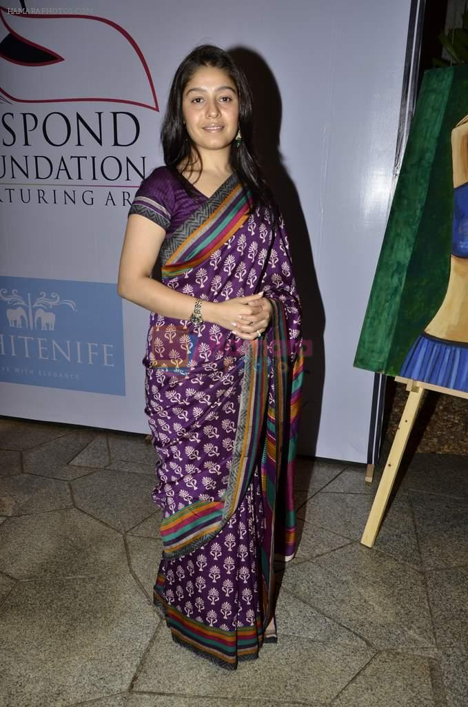 Sunidhi Chauhan at Kiran Juneja Sippy's Respond Foundation launch in Mumbai on 26th July 2013
