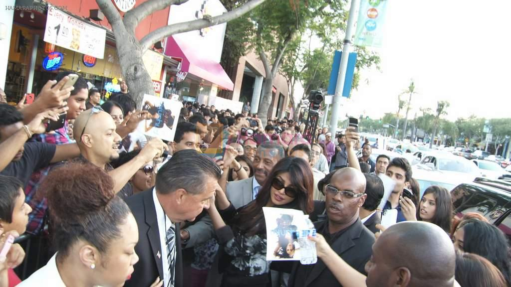 Priyanka Chopra launched her celebrity milkshake The Exotic at world famous Millions of Milkshakes in California on 25th July 2013