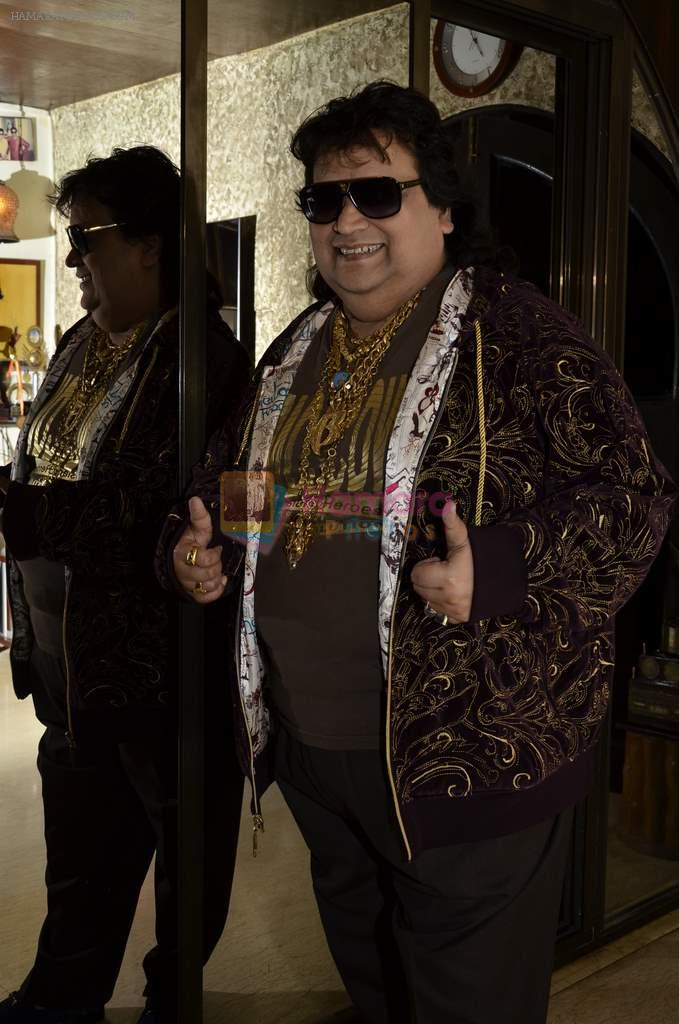 Bappi Lahiri launches Ramji Saturday Night album in Juhu, Mumbai on 28th July 2013