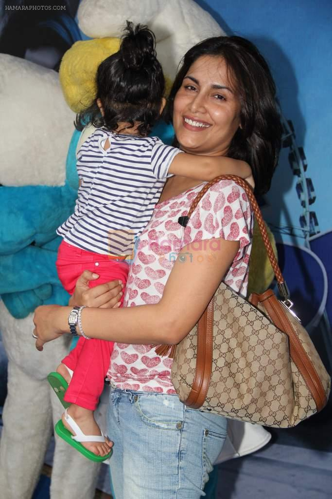 Tapur Chatterjee at The Smurfs 2 premiere in Mumbai on 28th July 2013