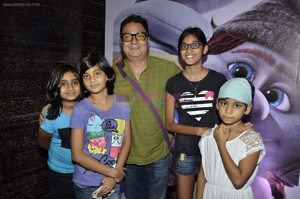 Vinay Pathak at The Smurfs 2 premiere in Mumbai on 28th July 2013