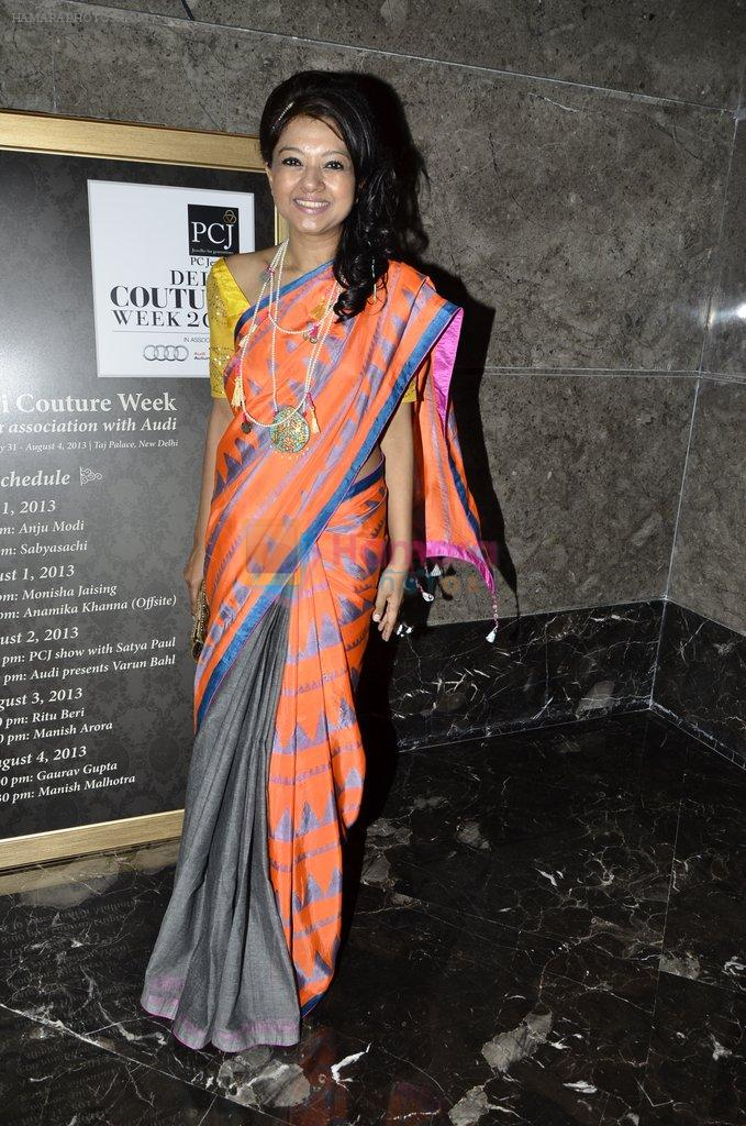 on day 1 of PCJ Delhi Couture Week on 31st July 2013