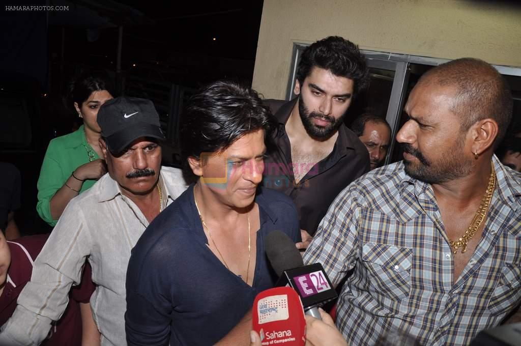 Shahrukh Khan at the special screening of Chennai Express in PVR, Mumbai on 8th Aug 2013