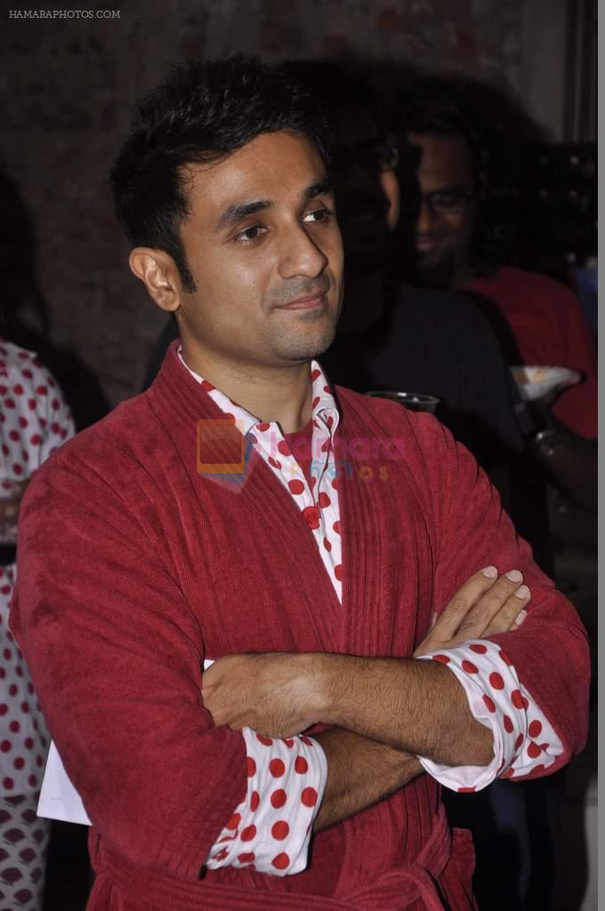 Vir Das at India's largest comedy festival launch in Blue Frog, Mumbai on 22nd Sept 2013