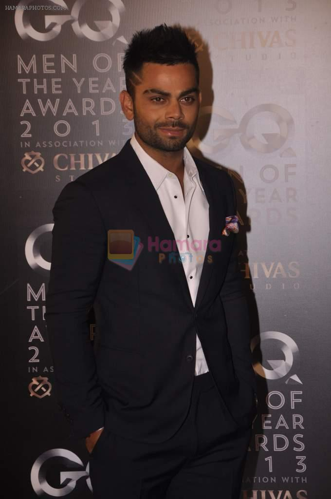 Virat Kohli at GQ Men of the Year Awards 2013 in Mumbai on 29th Sept 2013