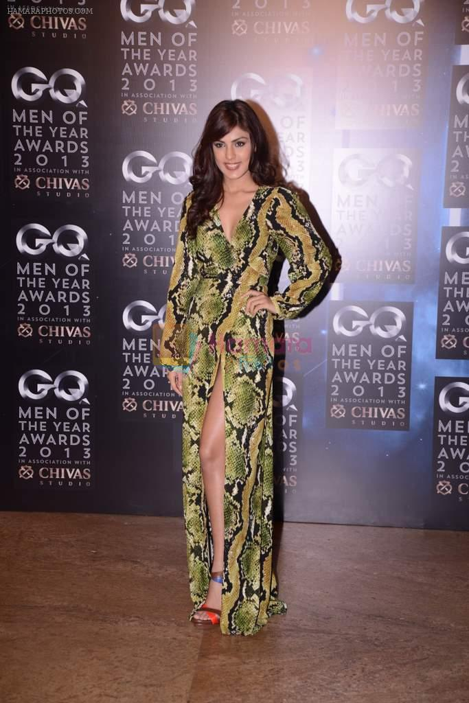 Rhea Chakraborty at GQ Men of the Year Awards 2013 in Mumbai on 29th Sept 2013