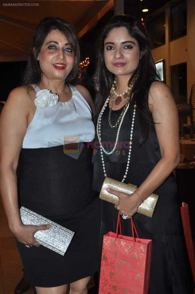 at Poonam Dhillon's sister Rishma Pai's birthday in Blue Sea, Mumbai on 2nd Oct 2013