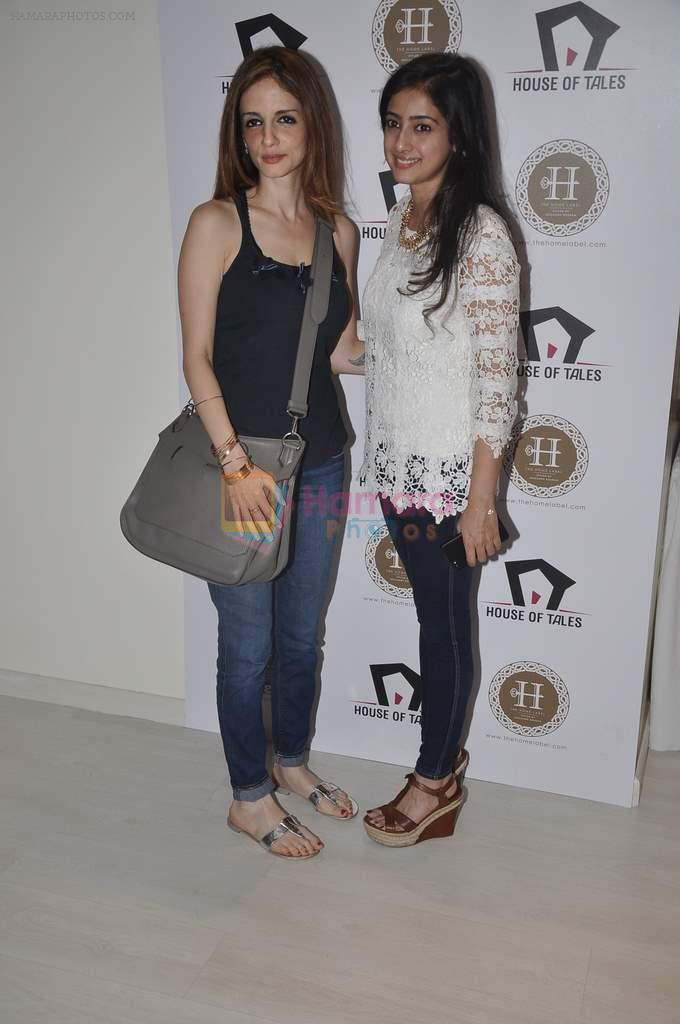 Suzanne Roshan visits House of Tales to launch her new collection in Kala Ghoda, Mumbai on 6th Oct 2013