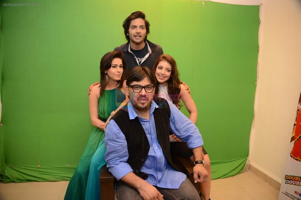 Anisa, Ali Fazal, Amrita Raichand, Shuja Ali at Baat Bann Gayi film promotions in Mumbai on 7th Oct 2013