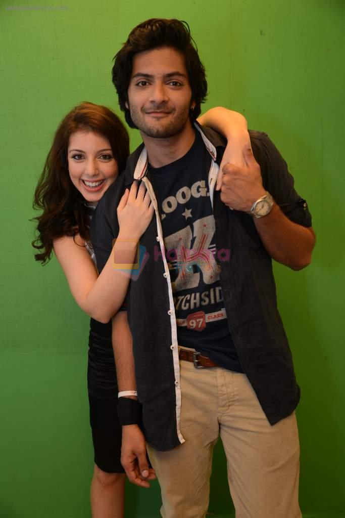Anisa, Ali Fazal at Baat Bann Gayi film promotions in Mumbai on 7th Oct 2013