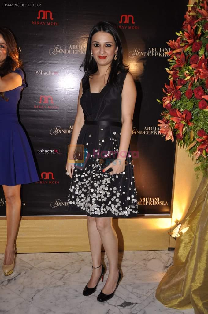 Anu Dewan at Abu Jani's The Golden Peacock show for Sahachari Foundation in Mumbai on 7th Oct 2013