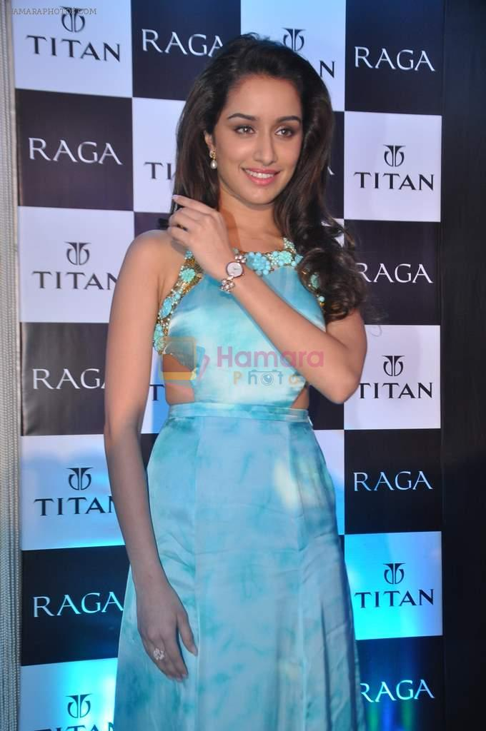 Shraddha Kapoor launches the exquisite Raga Pearls collection of watches in Mumbai on 7th Oct 2013