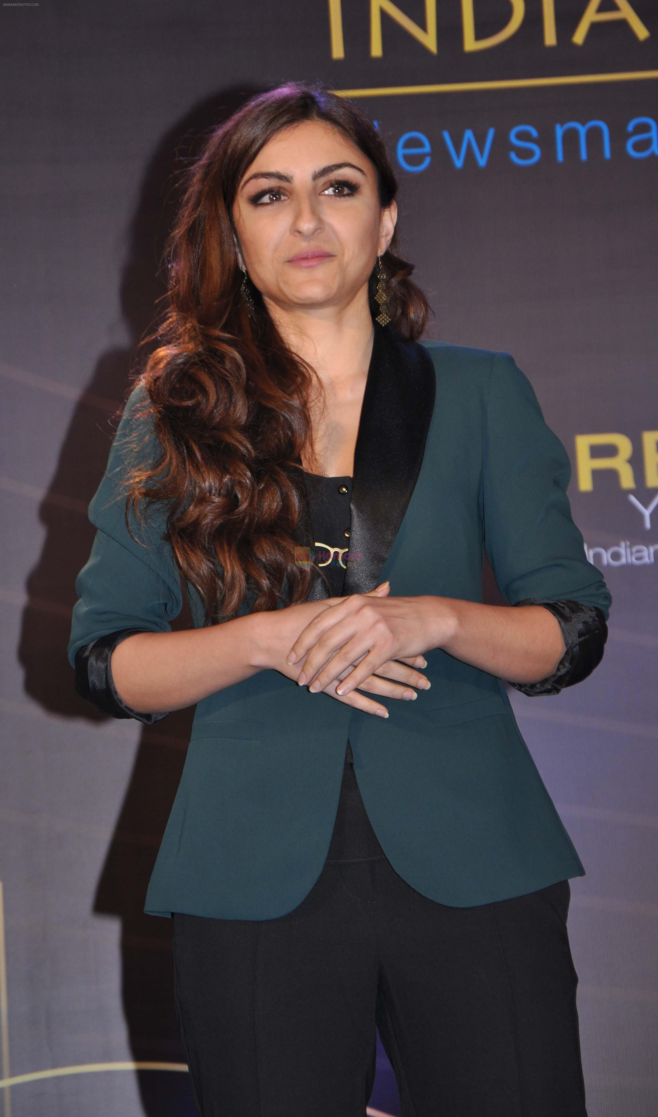 Soha Ali Khan launch India Realty Yearbook & Real Leaders at The premier Indian Realty Awards 2013 in New Delhi on 8th Oct 2013