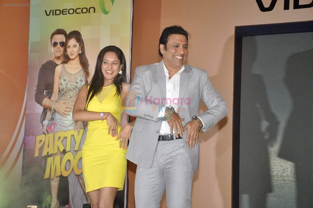 Govinda, Puja Banerjee launched his music album Gori Tere Naina in Mumbai on 7th Oct 2013