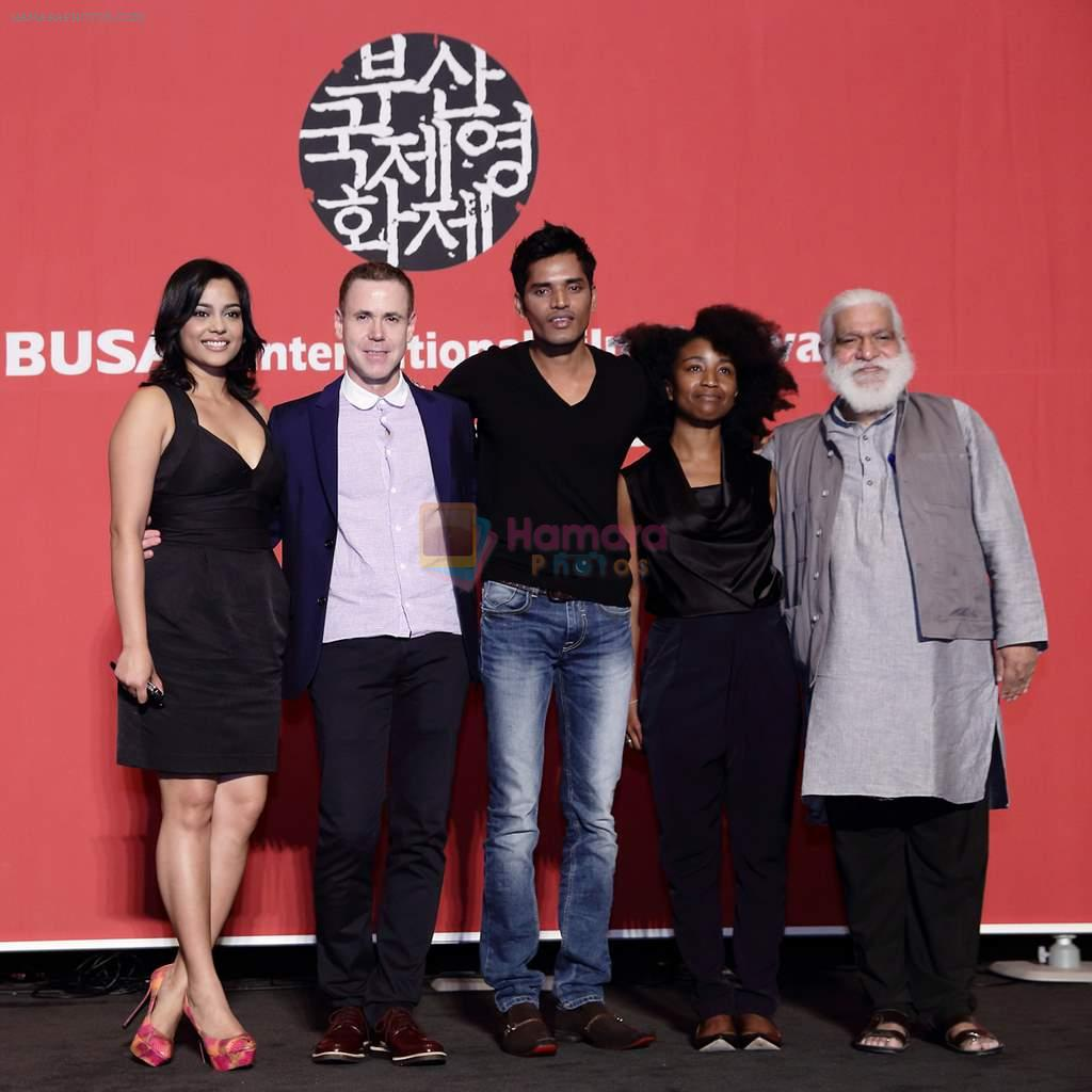 Shahana Goswami at Busan Film Festival in Korea on 7th Oct 2013