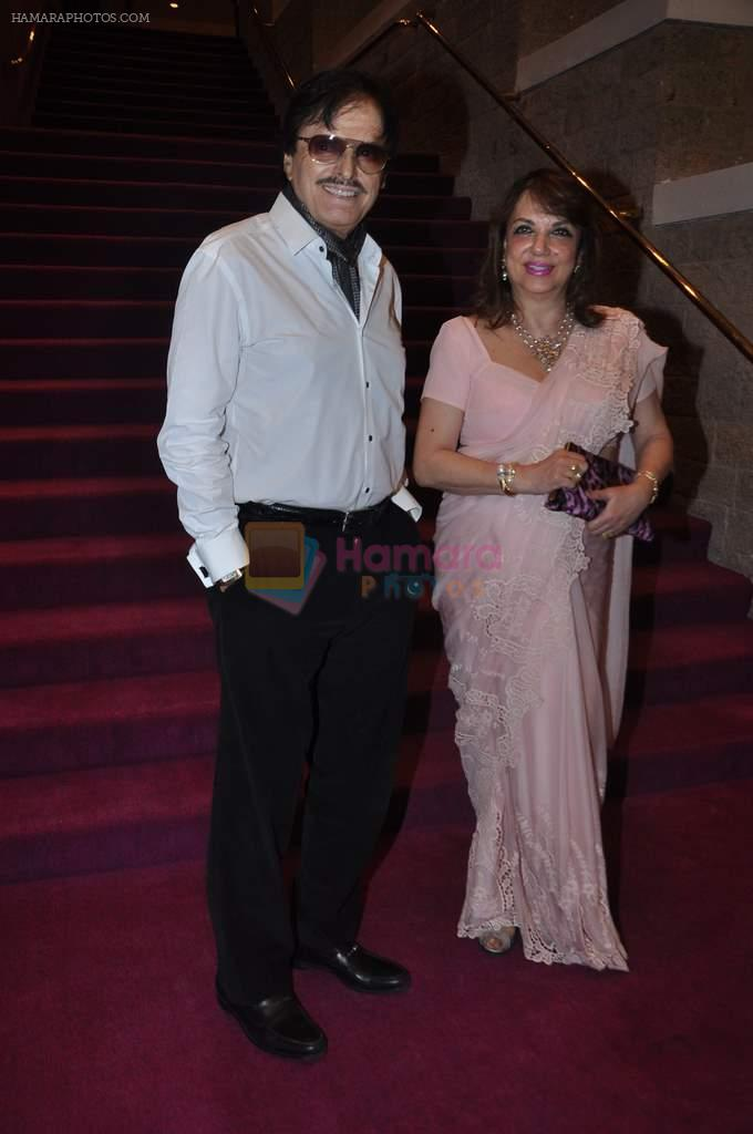 Sanjay Khan, Zarine Khan at Dr Batra's Positive awards in NCPA, Mumbai on 8th Oct 2013