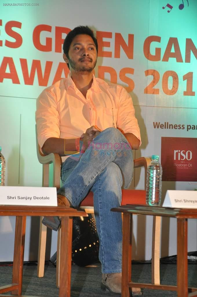 Shreyas Talpade at Times Green Ganesha event in YB, Mumbai on 8th Oct 2013