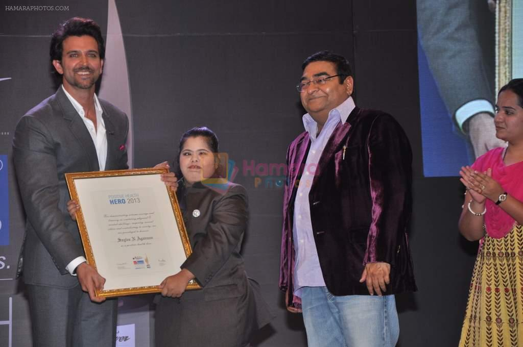 Hrithik Roshan at Dr Batra's Positive awards in NCPA, Mumbai on 8th Oct 2013