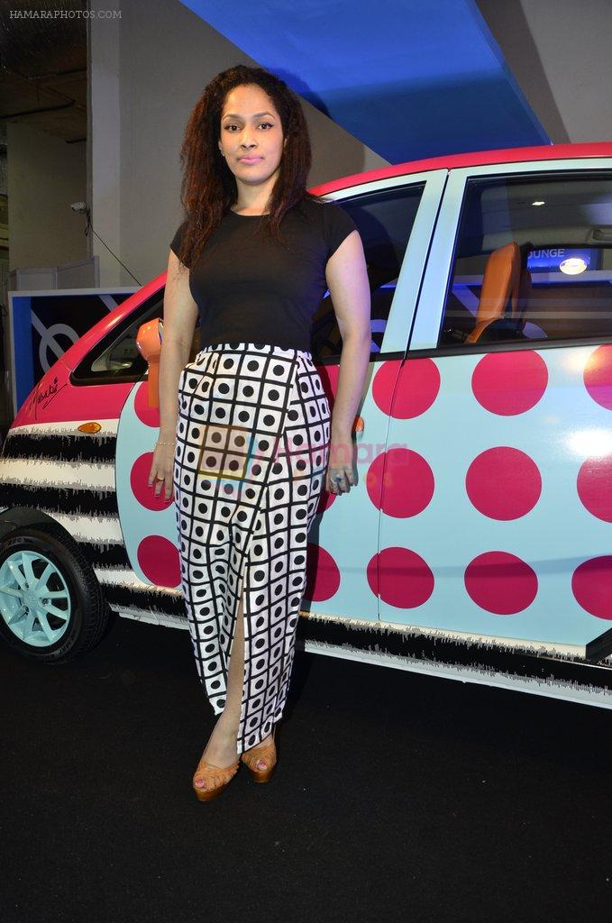 Masaba launches Nano Car designed by her in Mumbai on 9th Oct 2013