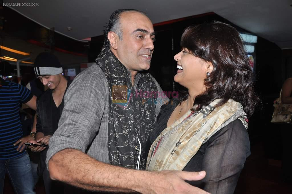 Pallavi Joshi, Rajit Kapur at the premiere of bengali Film in Cinemax, Mumbai on 9th Oct 2013
