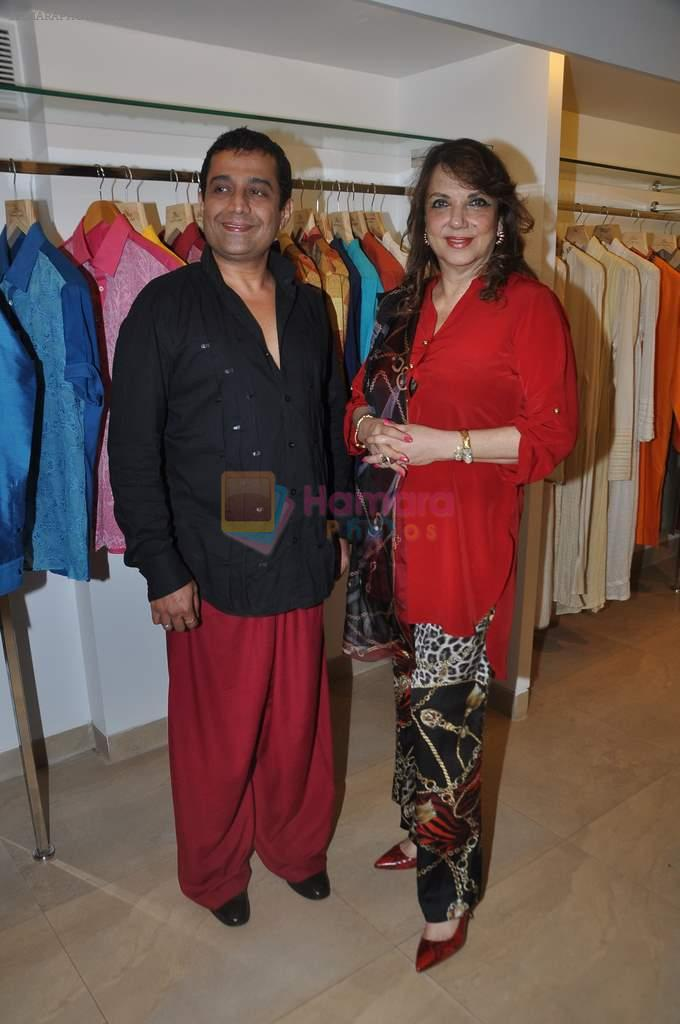 Zarine Khan at Shahid Aamir's collection launch in Juhu, Mumbai on 29th Oct 2013