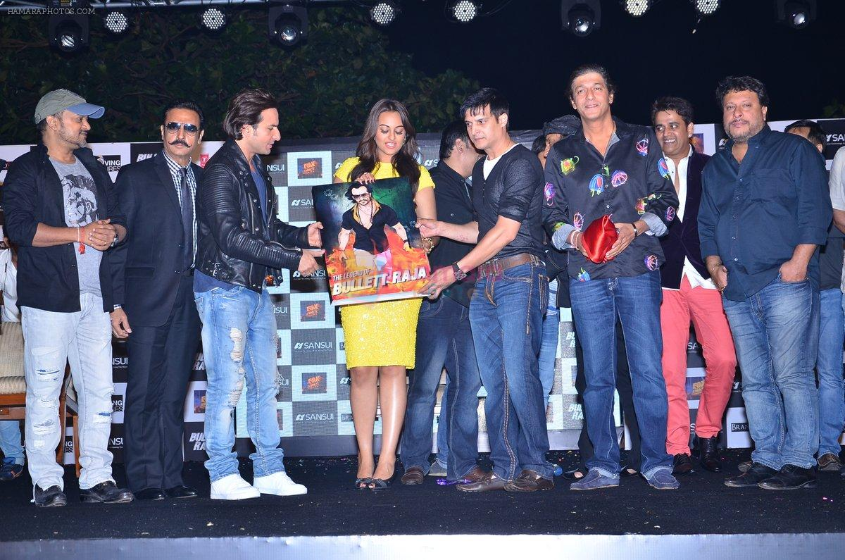 Sonakshi Sinha, Saif Ali Khan, Jimmy Shergill, Gulshan Grover, Ravi Kishan, Chunky Pandey, Sajid Ali, Wajid ALi, Tigmanshu Dhulia at Bullet Raja-Sansui Press meet in Mumbai on 20th Nov 2013