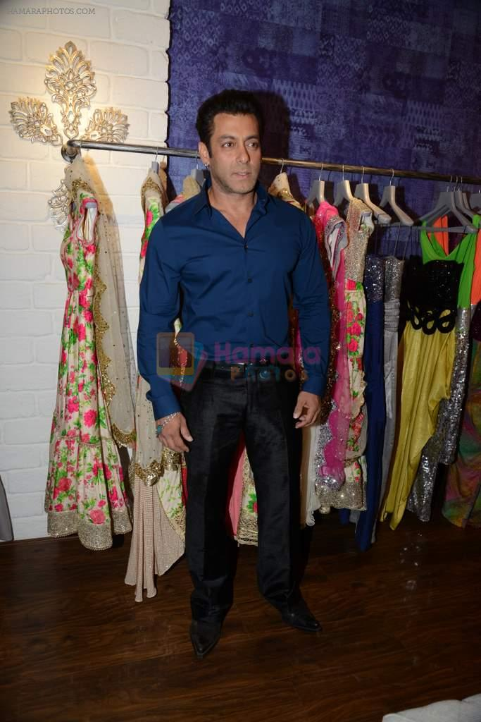 Salman Khan at Bandra 190 store launch in Bandra, Mumbai on 18th 2013