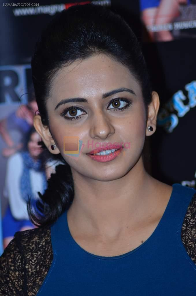 Rakul Preet with Team of Yaariyan unveils latest issue of The Rising Star Magazine in Magna House, Mumbai on 23rd Dec 2013
