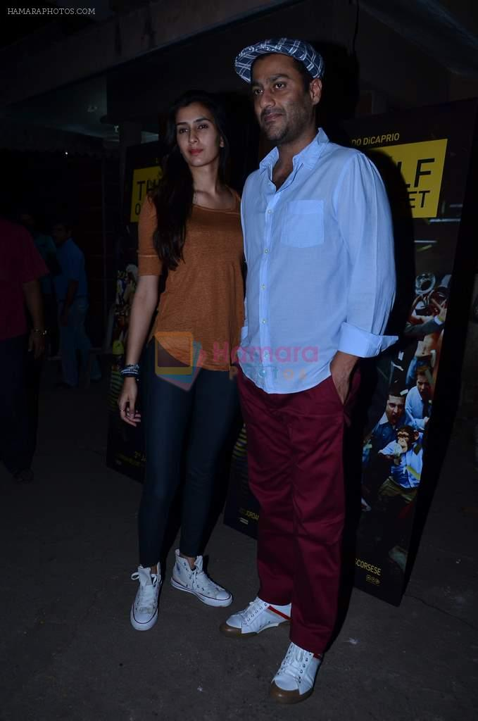 Abhishek Kapoor at the special Screening of The WOlf of Wall Street hosted by Anurag Kahyap in Empire, Mumbai on 23rd Dec 2013