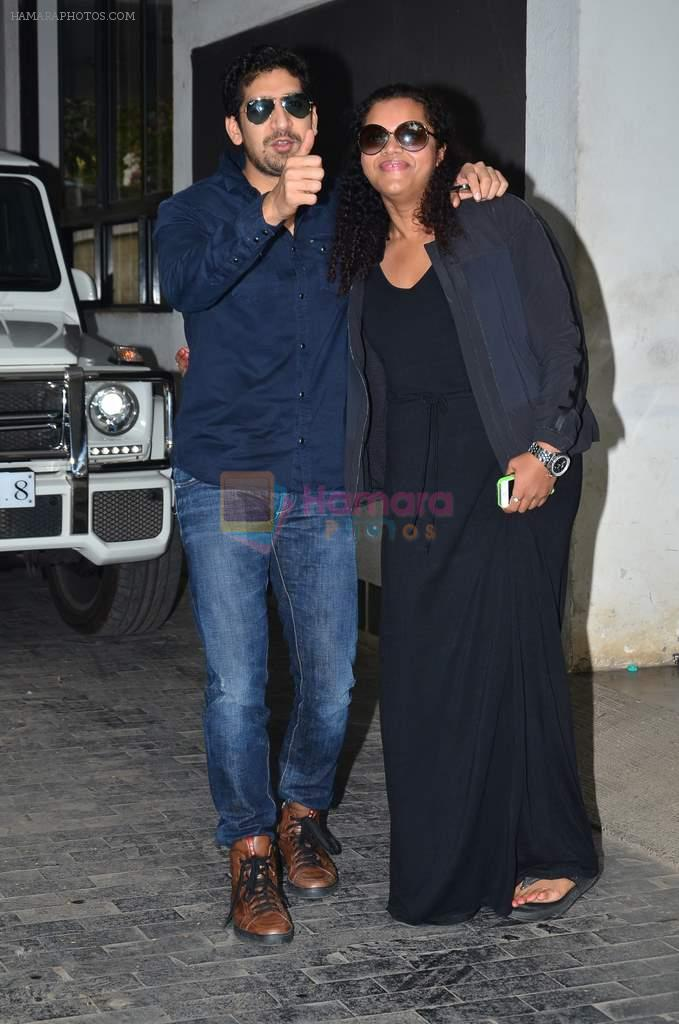 Ayan Mukerji at Shashi Kapoor's brunch in Mumbai on 25th Dec 2013