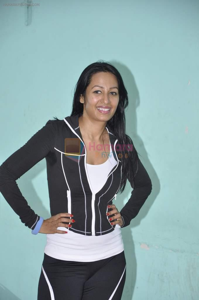 Kashmira Shah rehearse for New Years in Andheri, Mumbai on 27th Dec 2013