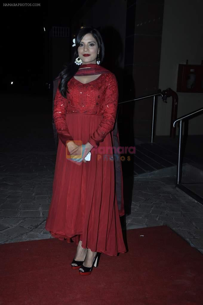 Richa Chadda at Aamna Sharif wedding reception in Mumbai on 28th Dec 2013